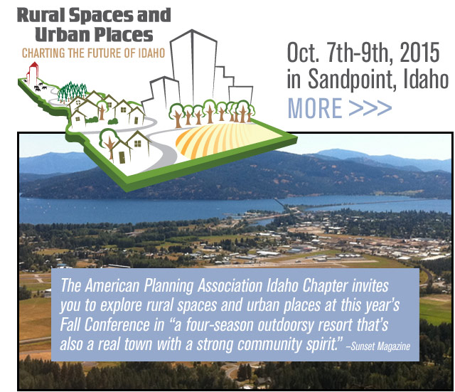 Rural Spaces and Urban Places - Charting the Future of Idaho